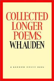 Cover of: Collected longer poems