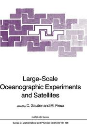 Cover of: Large-Scale Oceanographic Experiments and Satellites (NATO Science Series C: (closed)) |