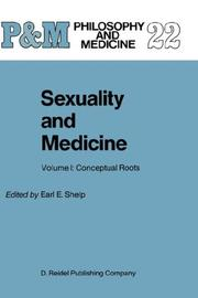 Cover of: Sexuality and Medicine: Volume I