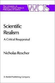 Cover of: Scientific realism | Rescher, Nicholas.