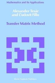 Cover of: Transfer Matrix Method | Alexander TesГЎr