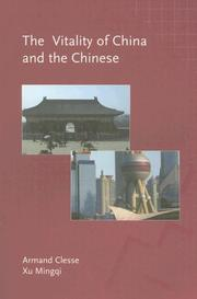Cover of: Vitality Of China And The Chinese
