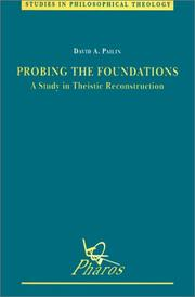 Probing the Foundations by David A. Pailin