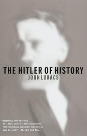 Cover of: The Hitler of history | John Lukacs
