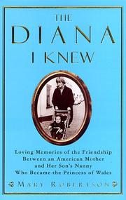 Cover of: The Diana I knew