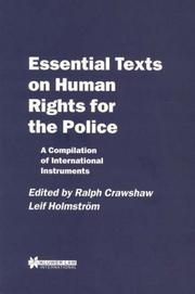 Cover of: Essential texts on human rights for the police |