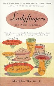 Cover of: Ladyfingers and Nun's Tummies