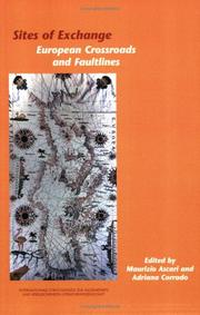 Cover of: Sites of Exchange: European Crossroads and Faultlines (Internationale Forschungen zur Allgemeinen und Vergleichenden Literaturwissenschaft 103) (Internationale ... Zur Allgemeinen Und Vergleichende)