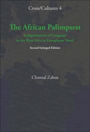 Cover of: The African Palimpsest