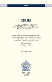 Cover of: Crises