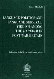 Cover of: Language Politics And Language Survival | Bruce Mitchell