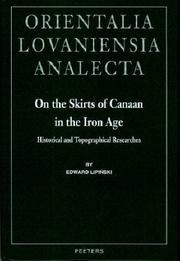 Cover of: On the Skirts of Canaan in the Iron Age