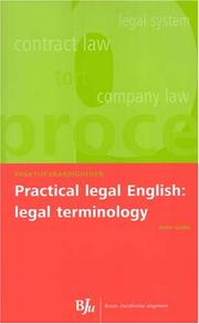 Cover of: Practical Legal English | Helen Gubby
