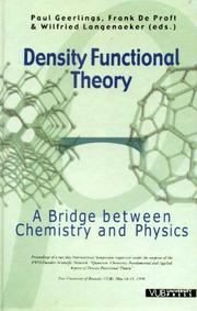 Density functional theory : a bridge between chemistry and