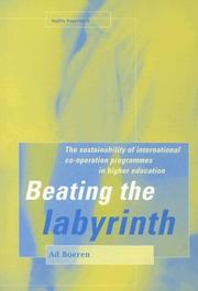 Cover of: BEATING THE LABYRINTH | Ad Boeren
