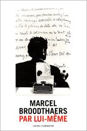 Cover of: Marcel Broodthaers