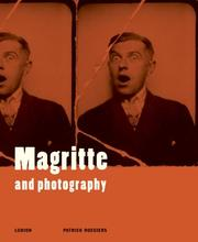 Cover of: Magritte And Photography | ReneМЃ Magritte