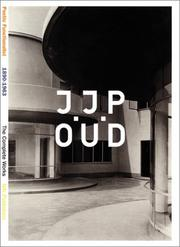 Cover of: J.J.P. Oud