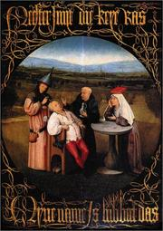 Cover of: Hieronymus Bosch