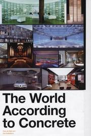 Cover of: The World According to Concrete