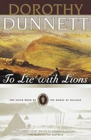 Cover of: To Lie with Lions | Dunnett, Dorothy.