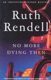 Cover of: No more dying then