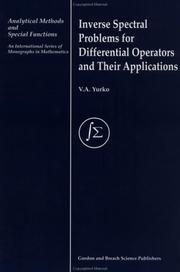 Inverse spectral problems for differential operators and their applications