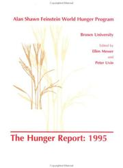 Hunger Report 1995