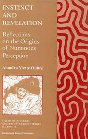 Cover of: Instinct and Revelation | Alondra Oubre