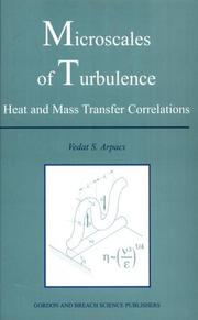 Cover of: Microscales of Turbulence