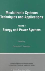 Energy and Power Systems
