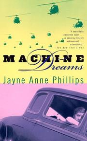 Cover of: Machine dreams | Jayne Anne Phillips