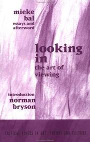Cover of: Looking In | Mieke Bal