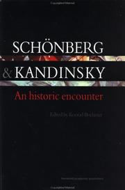 Cover of: Schonberg and Kandinsky