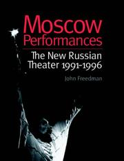 Cover of: Moscow Performances | John Freedman