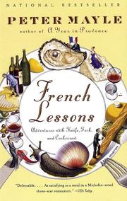 Cover of: French Lessons | Peter Mayle
