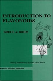 Cover of: Introduction to flavonoids by Bruce A. Bohm