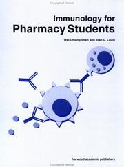 Cover of: Immunology for pharmacy students |