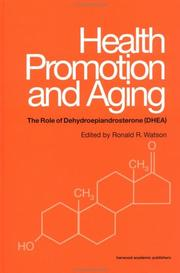 Cover of: Health promotion and aging