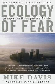 Cover of: Ecology of fear