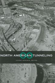 Cover of: North American Tunneling 2000 | North American Tunneling 2000 (2000 Boston, Mass.)