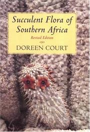 Succulent flora of southern Africa by Doreen Court