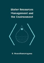 Cover of: Water resources management and the environment