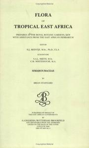 Cover of: Flora of Tropical East Africa - Simaroubacea (2000) (Flora of Tropical East Africa)
