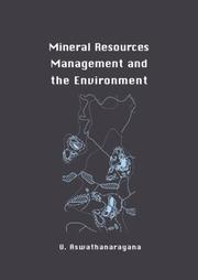 Cover of: Mineral resources management and the environment