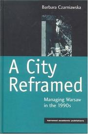 Cover of: A City Reframed