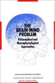 Cover of: The Brain-mind problem |