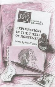 Cover of: Explorations in the field of nonsense |
