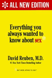 Everything you always wanted to know about sex, but were afraid to ask (1969 edition) | Open Library