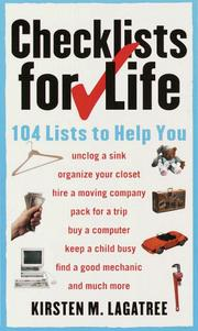 Cover of: Checklists for Life | Kirsten Lagatree